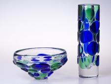 Vaza sklenena